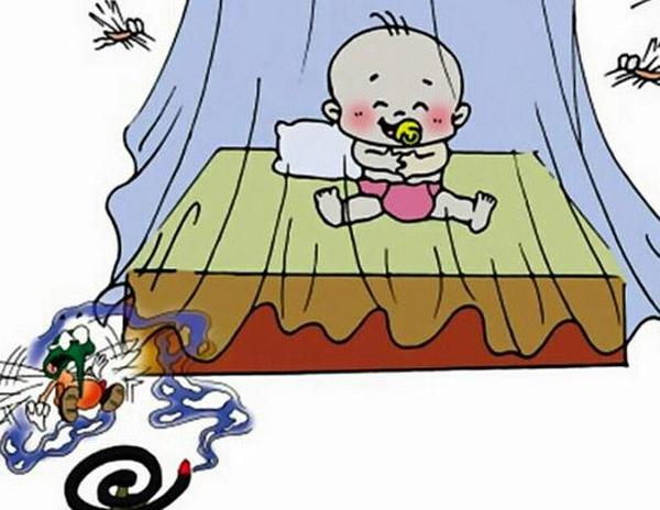 buông màn là cách phòng muỗi đốt hiệu quả