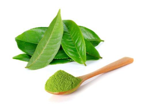 trị rôm sảy cho bé bằng lá trà xanh