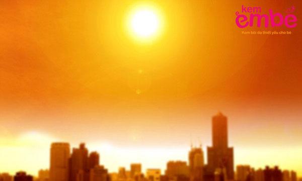 Thời tiết nóng bức dễ gây ra bệnh rôm sảy