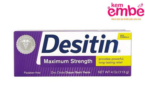 Kem trị hăm Desitin tím