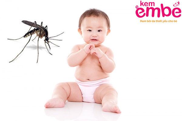 Những biến chứng khi bé bị muỗi đốt ở mắt