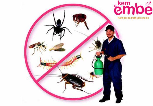 Cách phòng tránh để không bị côn trùng cắn