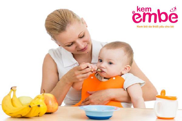 Chế độ dinh dưỡng cho trẻ hợp lý