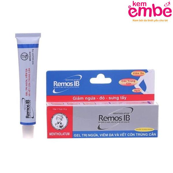 Kem bôi Remos IB trị rôm sảy hiệu quả