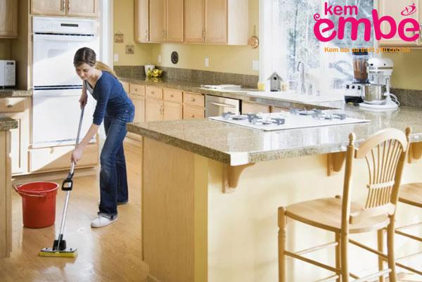 Vệ sinh nhà ở sạch sẽ loại bỏ nơi trú ngụ của côn trùng