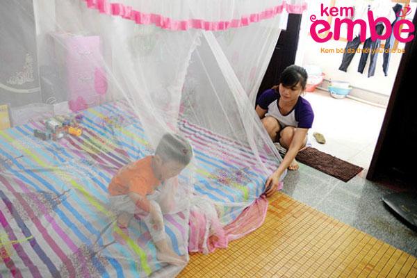 Cách phòng tránh muỗi đốt cho thành viên trong gia đình