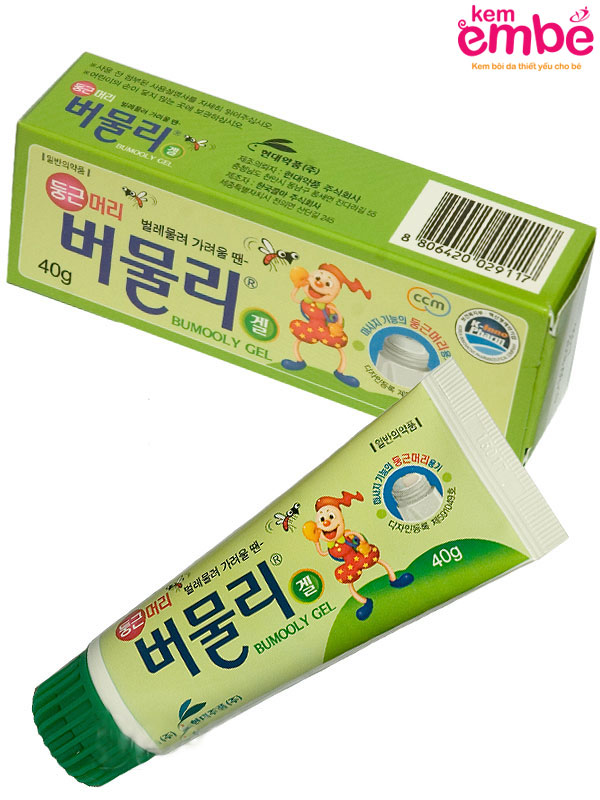 Kem bôi Bumooly gel giảm ngứa nhanh chóng
