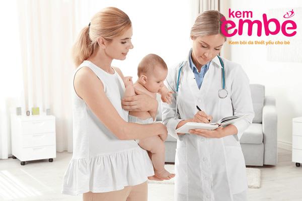 Khi áp dụng phương pháp này mẹ nên tham vấn ý kiến từ bác sỹ