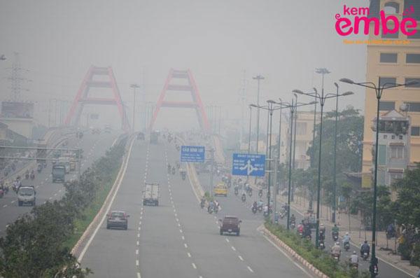 Ôi nhiễm không khí là một trong những nguyên nhân gây viêm da
