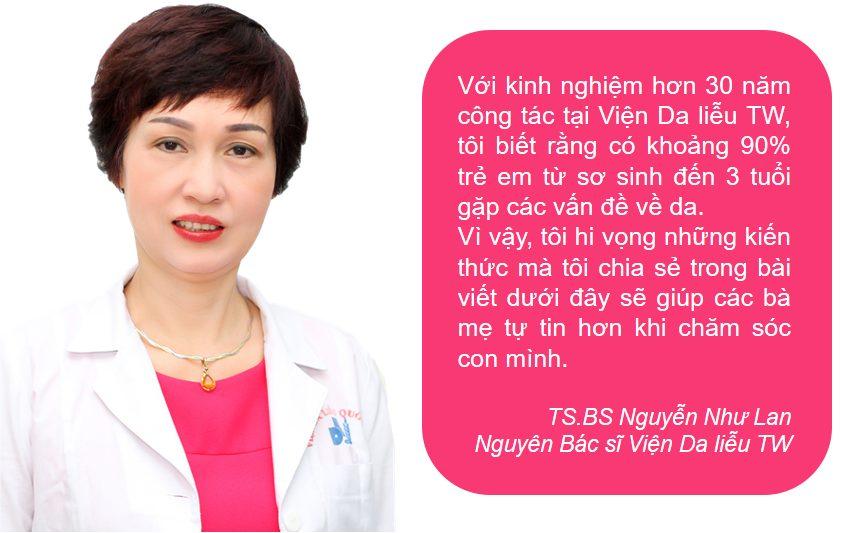 Chia sẻ từ TS.BS Nguyễn Như Lan - Viện Da liễu TW