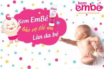 dùng kem em bé để điều trị viêm da ở trẻ em