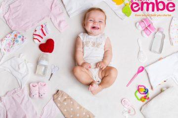 Lựa chọn quần áo bằng cotton cho bé