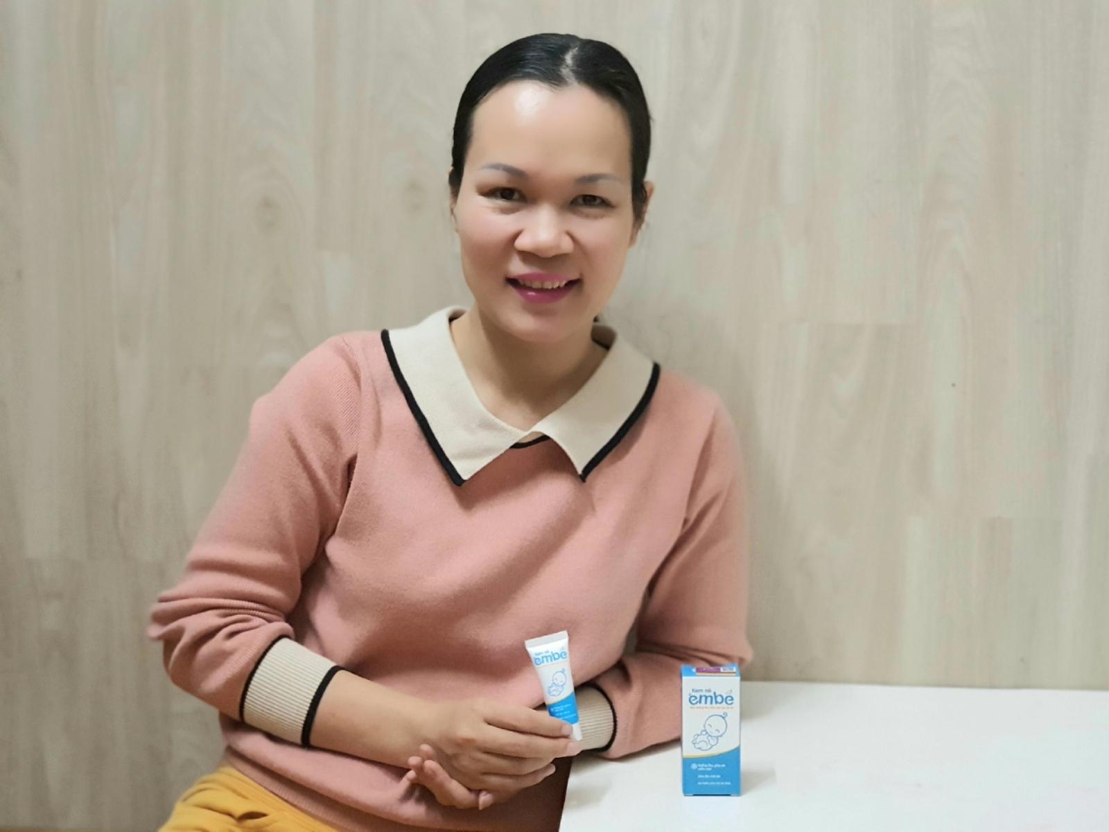Mẹ Trang Nhung và bé Heo